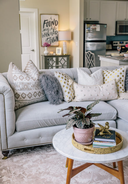 Home Decor | Living Room Reveal Including NSale Home Items