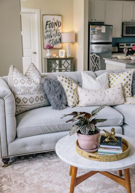 Home Decor | Living Room Reveal Including NSale Home Items