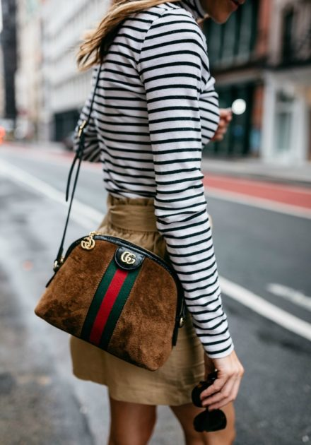 Stripe Turtleneck Top Under $60 You'll Wear All of Fall