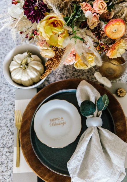 Place Setting Inspiration For Your Fall Tablescape