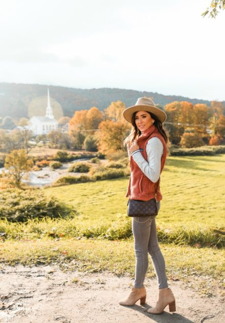 Light Fall Layers Under $100 in Stowe, Vermont