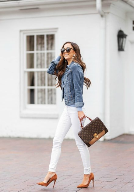 Where To Buy The Cutest Denim Jacket Under $60