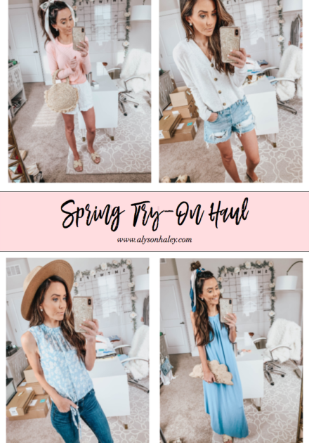 Spring Try-On Haul
