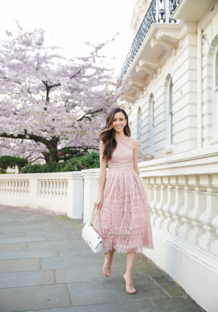 Cherry Blossoms In London + Easter Dress Options