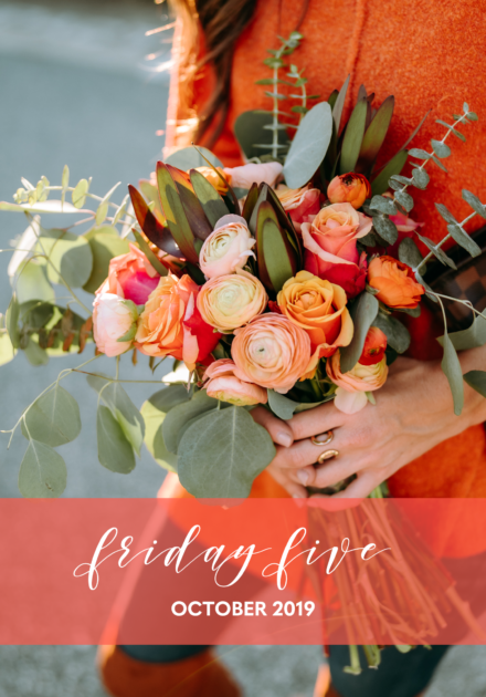 The Friday Five | October 2019